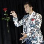 iluzjonista Lewitacja Róży