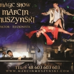 Magic Show iluzja plakat