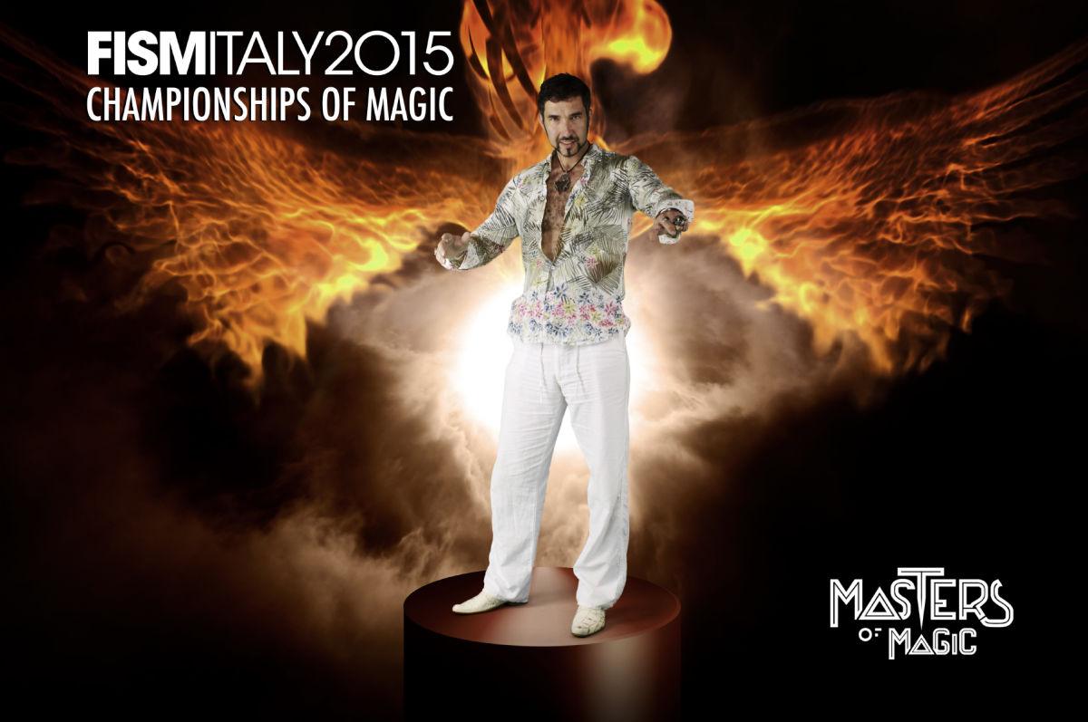 12.Mistrzostwa Świata Magii iluzjonista Marcin Muszynski