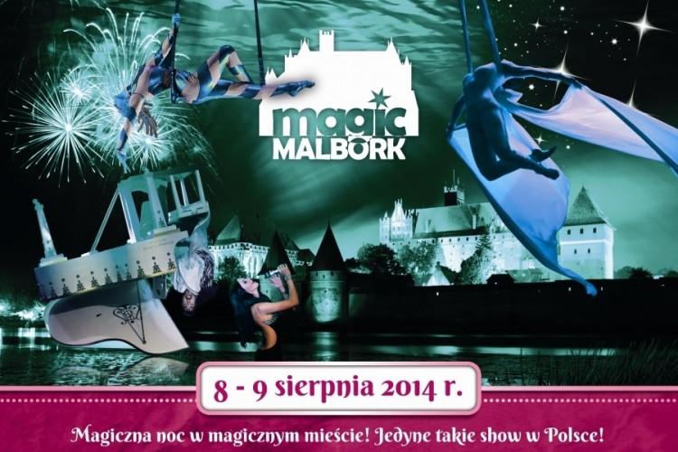 Widowisko Magic Malbork iluzjaonista Marcin Muszyński