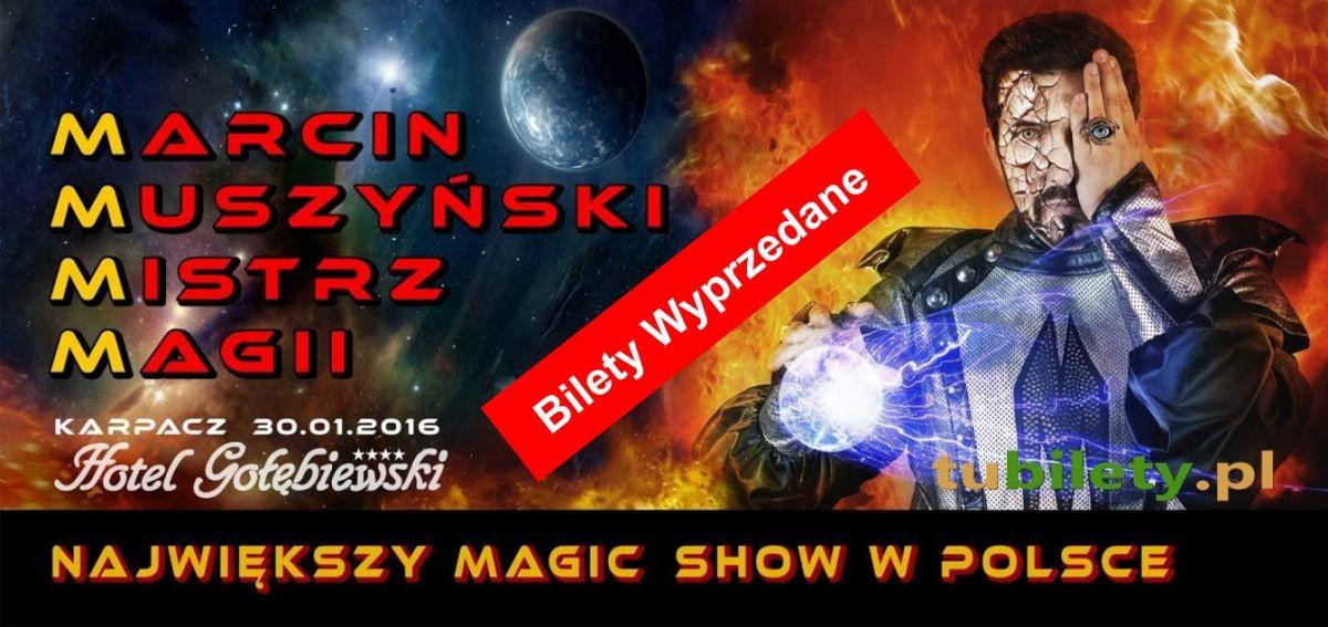 iluzjonista Marcin Muszynski Koncert Karpacz