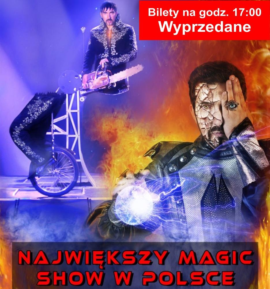 iluzjonista Muszynski koncert Warszawa EXPO XXI